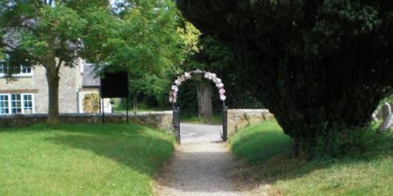 Churchyard Archway